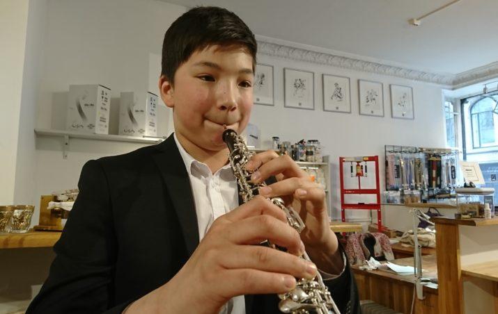 Even fikk ny obo fra Instrumenter i fokus